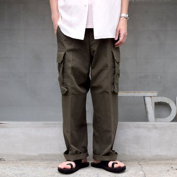 Ordinary fits(オーディナリーフィッツ)/ M-47 TYPE CARGO PANTS -KHAKI- #SP-P001