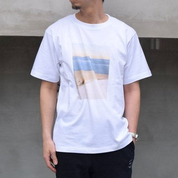 POET MEETS DUBWISE(ポートミーツダブワイズ) / Dawn Photo Inkjet T-Shirt -DWNTS-0213