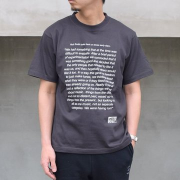 POET MEETS DUBWISE(ポートミーツダブワイズ) / Smith&Mighty T-Shirt -0206-SUMI