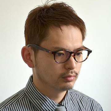 Buddy Optical(バディーオプティカル) CU(COLUMBIA UNIVERSITY) クリアレンズ -CLEAR TURTLE SHELL-