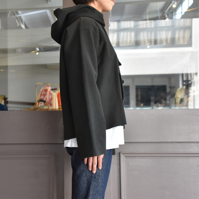 AURALEE(オーラリー) SUPER MILLED SWEAT CUT-OFF P/O PARKA #A20AP04SM(10)