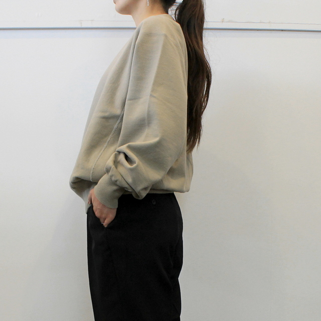 LENO&Co.(リノアンドコー) 【20AW】CREW NECK SWEAT SHIRT(3色展開)_H2002SW001【K】(10)