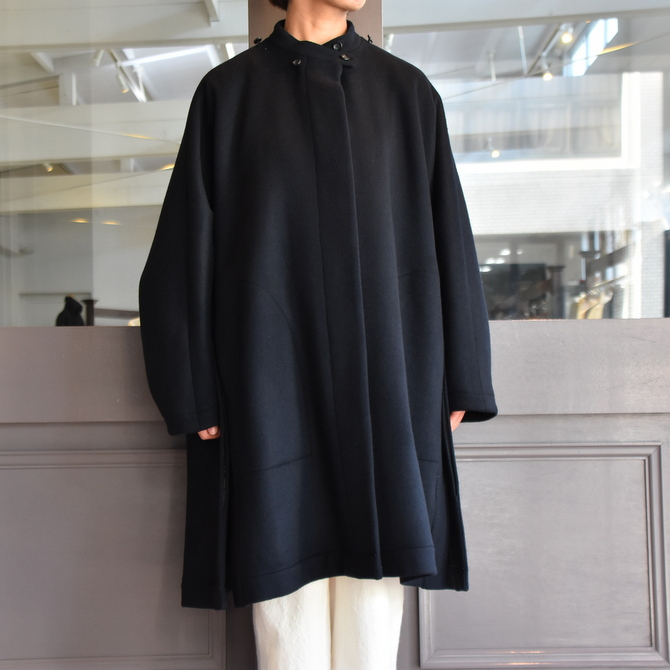TENNE HANDCRAFTED MODERN(テン ハンドクラフテッドモダン) SUPER 180'S WOOL CAPE WITH HOOD #0020CT(10)
