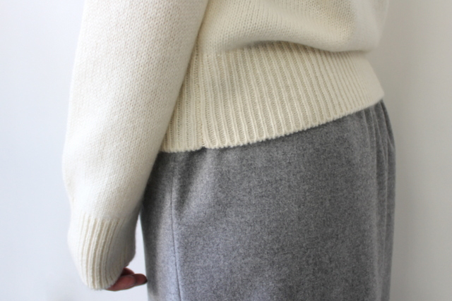 AURALEE(オーラリー)【20AW】BABY CASHMERE KNIT P/O(2色展開)_A20AP04BC【K】(10)
