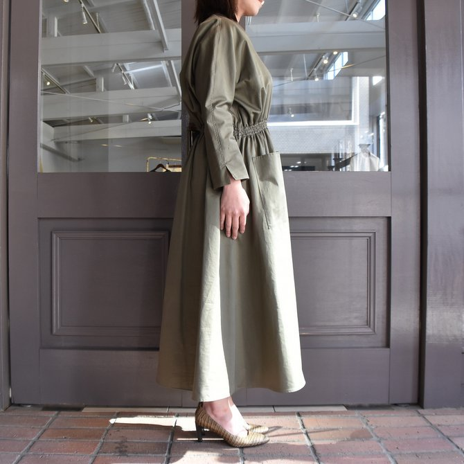 TENNE HANDCRAFTED MODERN(テン ハンドクラフテッドモダン) WEIST SHARING PULL ONE-PIECE #0003(11)