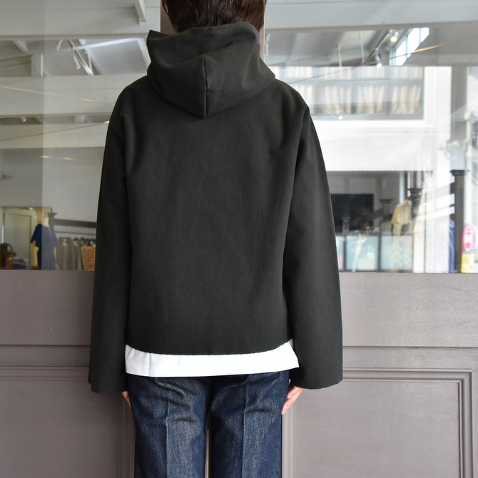 AURALEE(オーラリー) SUPER MILLED SWEAT CUT-OFF P/O PARKA #A20AP04SM(11)