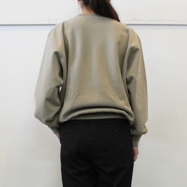 LENO&Co.(リノアンドコー) 【20AW】CREW NECK SWEAT SHIRT(3色展開)_H2002SW001【K】(11)