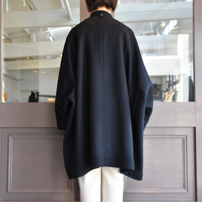 TENNE HANDCRAFTED MODERN(テン ハンドクラフテッドモダン) SUPER 180'S WOOL CAPE WITH HOOD #0020CT(11)