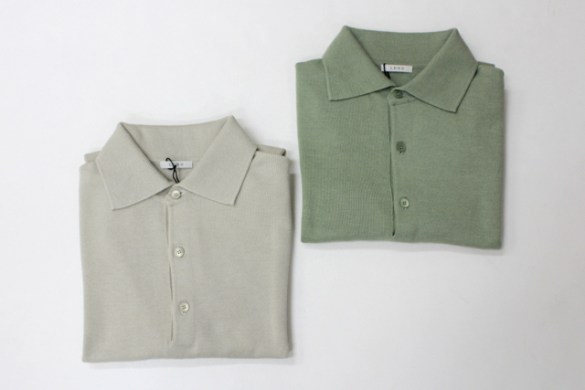LENO&Co.(リノアンドコー) 【20SS】COTTON SILK KNIT POLO(2色展開)_L2001K002【Z】(12)
