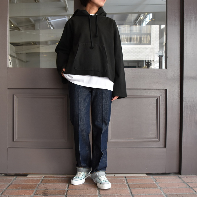 AURALEE(オーラリー) SUPER MILLED SWEAT CUT-OFF P/O PARKA #A20AP04SM(12)