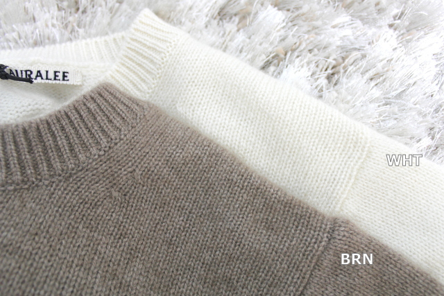 AURALEE(オーラリー)【20AW】BABY CASHMERE KNIT P/O(2色展開)_A20AP04BC【K】(12)