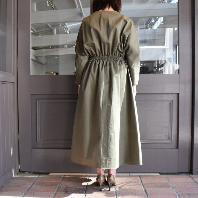 TENNE HANDCRAFTED MODERN(テン ハンドクラフテッドモダン) WEIST SHARING PULL ONE-PIECE #0003(13)
