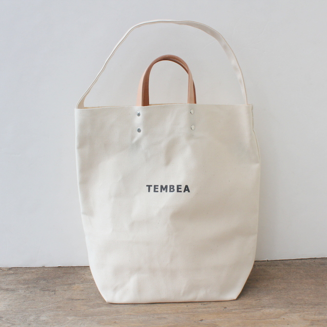TEMBEA(テンベア)2WAY LOGO BAG(NATURAL)【K】(1)