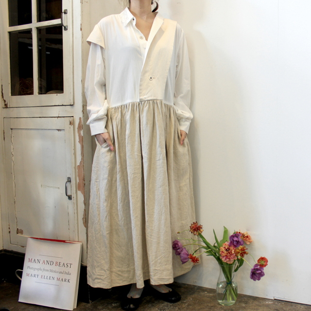 GASA*(ガサ) 【20SS】つくも Asymmetry dress_11201-10111-A-F【K】(1)