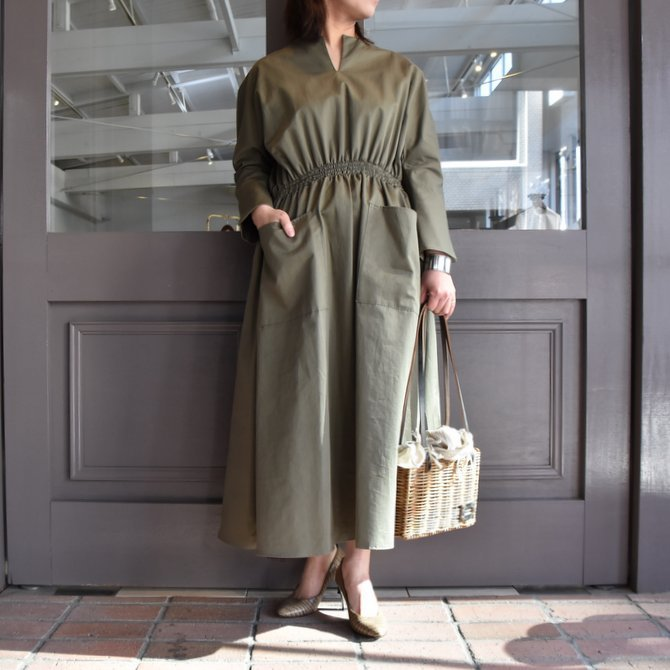 TENNE HANDCRAFTED MODERN(テン ハンドクラフテッドモダン) WEIST SHARING PULL ONE-PIECE #0003(1)