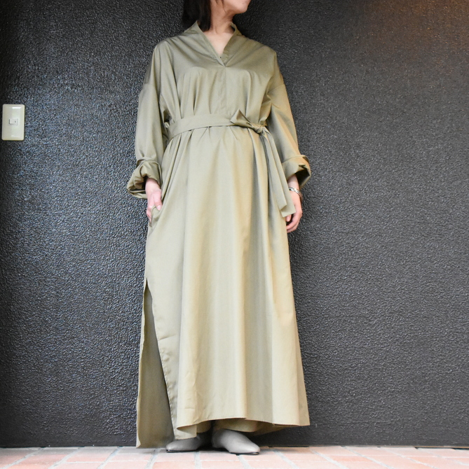 CristaSeya(クリスタセヤ)/ LIGHT COTTON CAFTAN #16M-C(1)