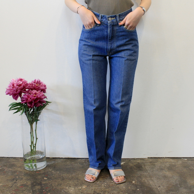 AURALEE(オーラリー) 【20SS】WASHED HARD TWIST DENIM 5P PANTS_A20SB10DM【K】(1)