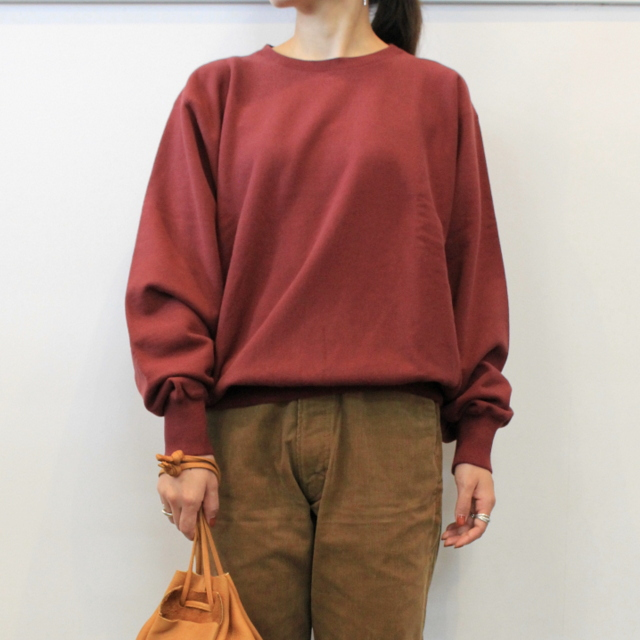 LENO&Co.(リノアンドコー) 【20AW】CREW NECK SWEAT SHIRT(3色展開)_H2002SW001【K】(1)