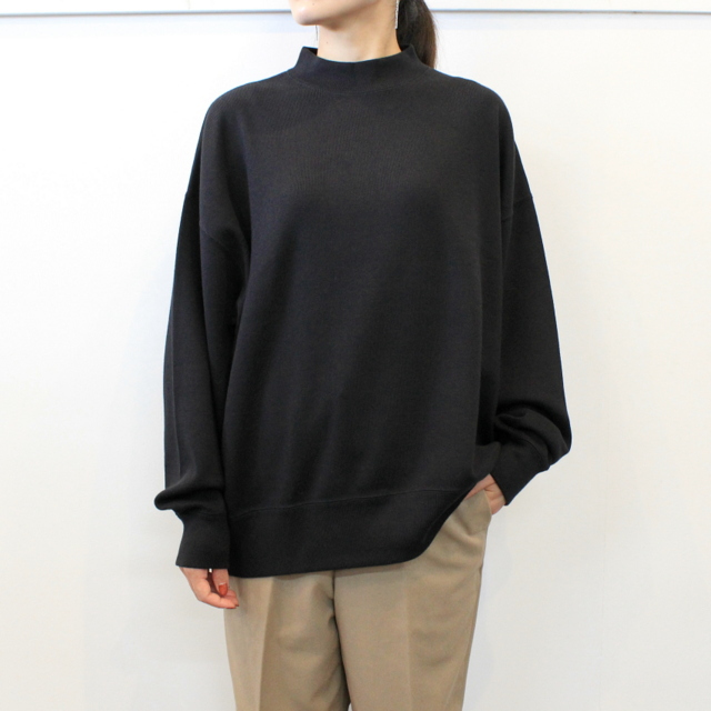 LENO&Co.(リノアンドコー) 【20AW】MOCK NECK LONG T-SHIRT_H2002CS002【K】(1)