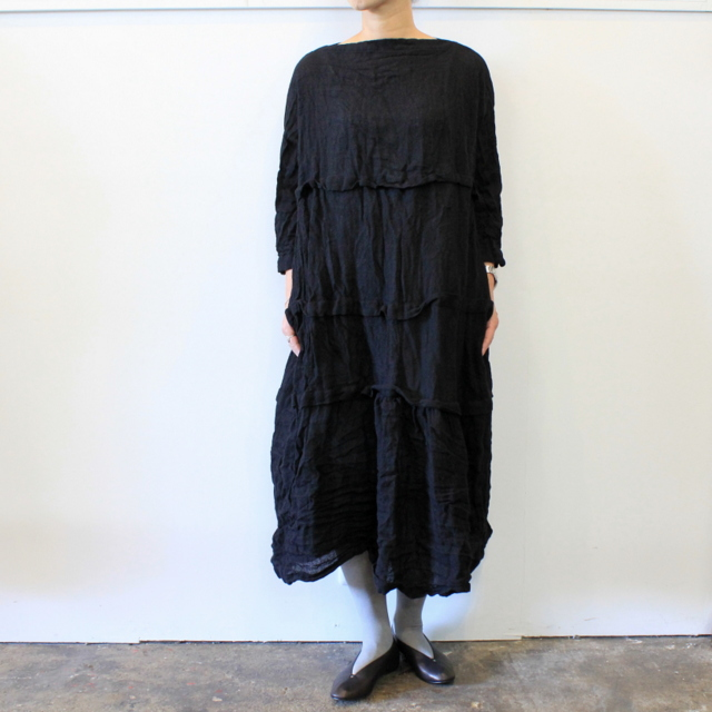 DANIELA GREGIS(ダニエラ グレジス) SOFFIONEBAIZA DRESS no.1_A614AW-W196【K】(1)