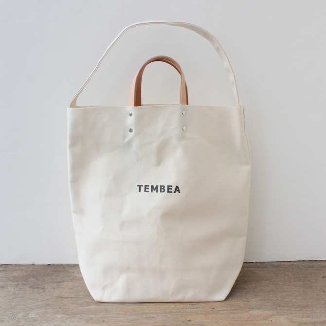 TEMBEA(テンベア)2WAY LOGO BAG(NATURAL)【K】(2)