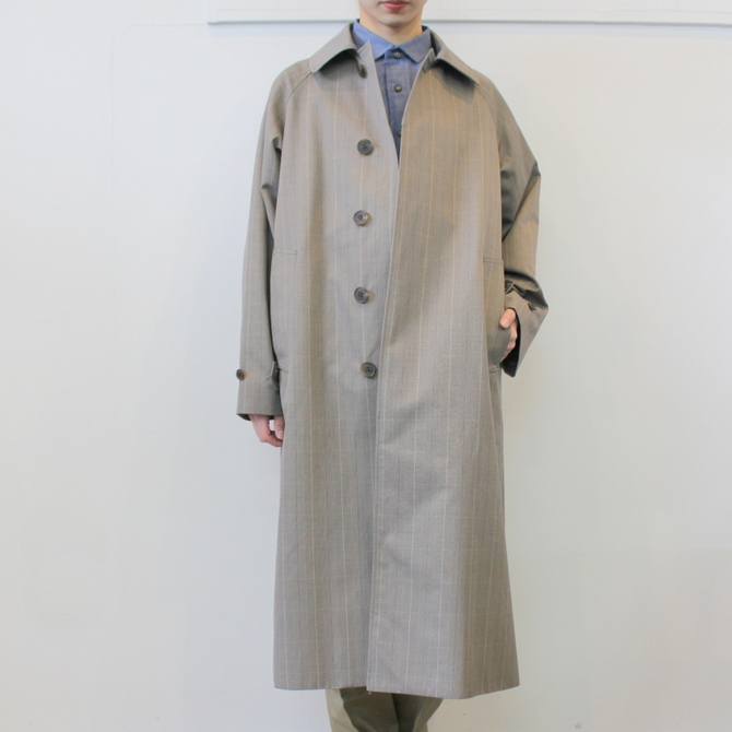 LENO&Co.(リノアンドコー) /【20SS】STAND FALL COLLAR COAT_L2001-CO001【K】(2)