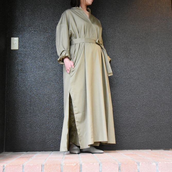 CristaSeya(クリスタセヤ)/ LIGHT COTTON CAFTAN #16M-C(2)