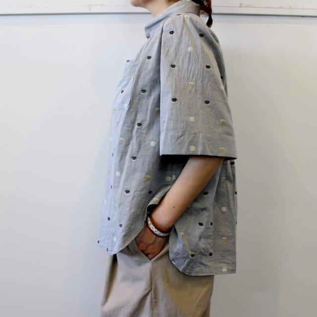 GASA*(ガサ) 【20SS】花ごろも short sleeve shirt_11201-15207【K】(2)
