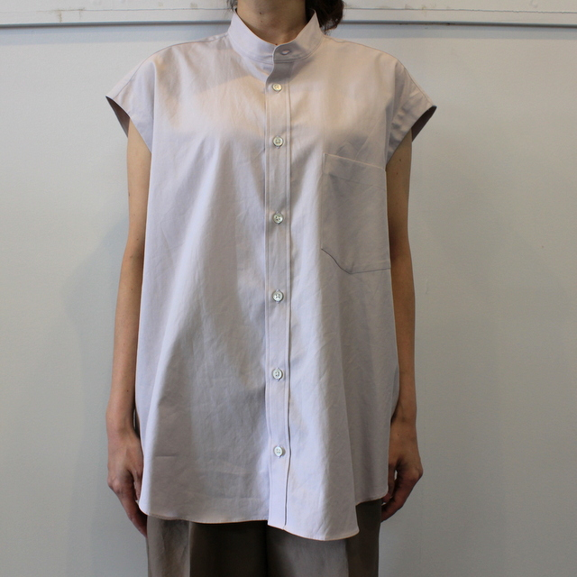 【30% off sale】AURALEE(オーラリー) 【20SS】WASHED FINX TWILL SLEEVELESS SHIRTS _A20SS05TN【K】(2)