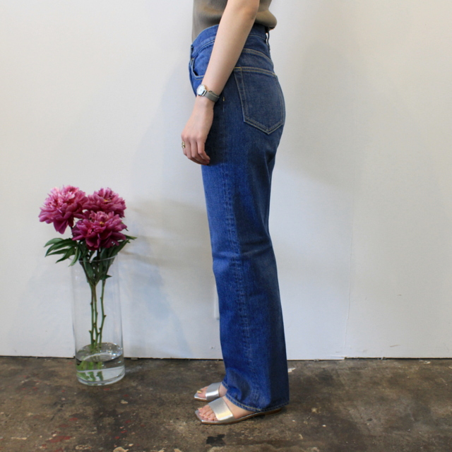 AURALEE(オーラリー) 【20SS】WASHED HARD TWIST DENIM 5P PANTS_A20SB10DM【K】(2)
