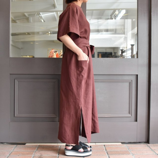 【30% off sale】YLÉVE(イレーヴ) 【2020】LINEN HIGH COUNT OP(2色展開) #168-0155057(2)
