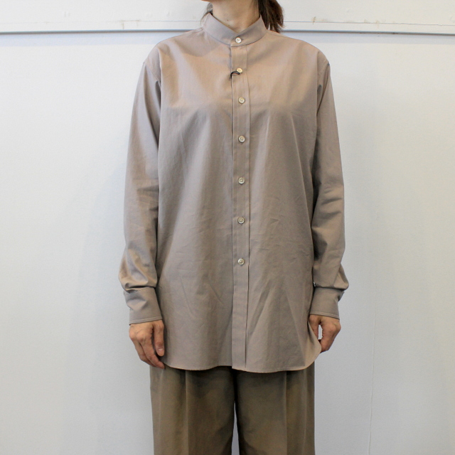 【40% off sale】AURALEE(オーラリー)【20AW】WASHED FINX TWILL SHIRTS(2色展開)_A20AS03TN【Z】(2)