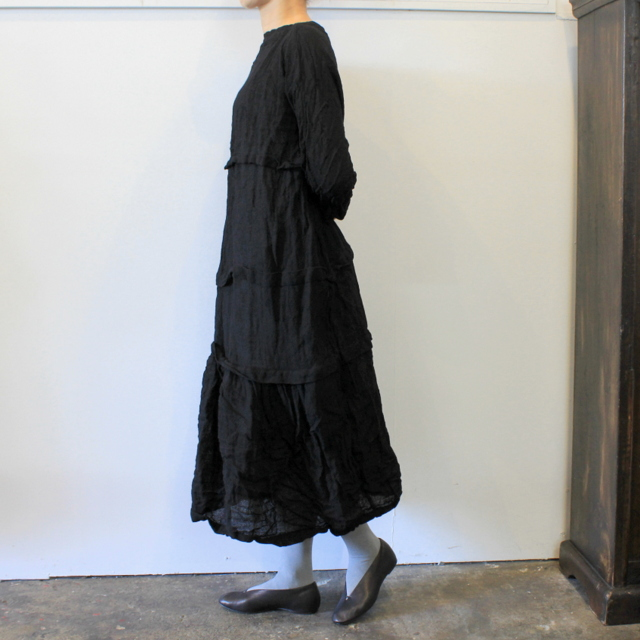 DANIELA GREGIS(ダニエラ グレジス) SOFFIONEBAIZA DRESS no.1_A614AW-W196【K】(2)