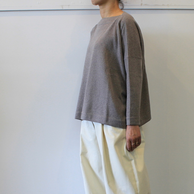 DANIELA GREGIS(ダニエラ グレジス)  BOATNECK SWEATER_MB1P-W44【K】(2)