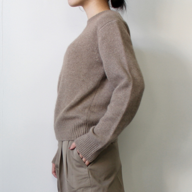 AURALEE(オーラリー)【20AW】BABY CASHMERE KNIT P/O(2色展開)_A20AP04BC【K】(2)