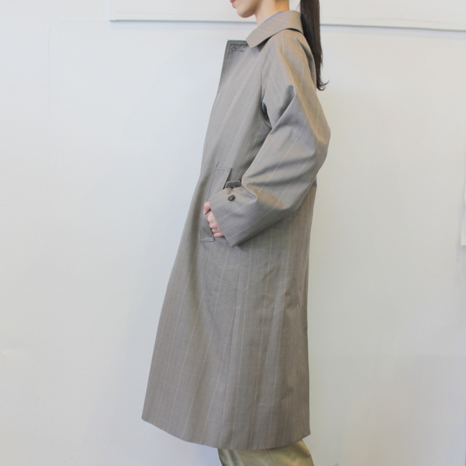 LENO&Co.(リノアンドコー) /【20SS】STAND FALL COLLAR COAT_L2001-CO001【K】(3)
