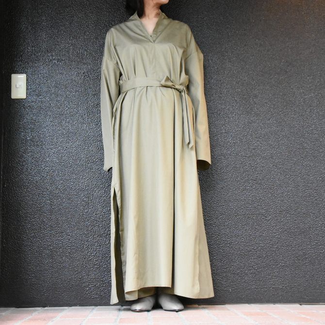 CristaSeya(クリスタセヤ)/ LIGHT COTTON CAFTAN #16M-C(3)