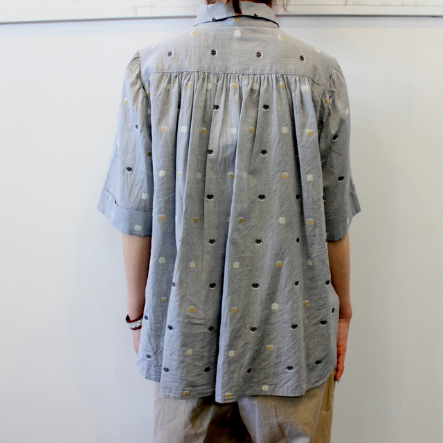 GASA*(ガサ) 【20SS】花ごろも short sleeve shirt_11201-15207【K】(3)
