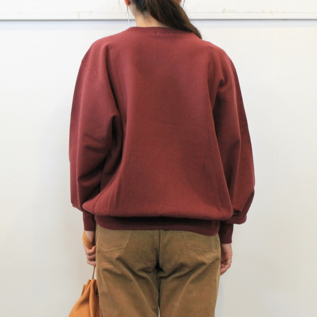 LENO&Co.(リノアンドコー) 【20AW】CREW NECK SWEAT SHIRT(3色展開)_H2002SW001【K】(3)
