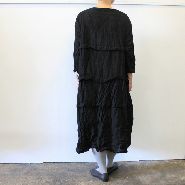 DANIELA GREGIS(ダニエラ グレジス) SOFFIONEBAIZA DRESS no.1_A614AW-W196【K】(3)