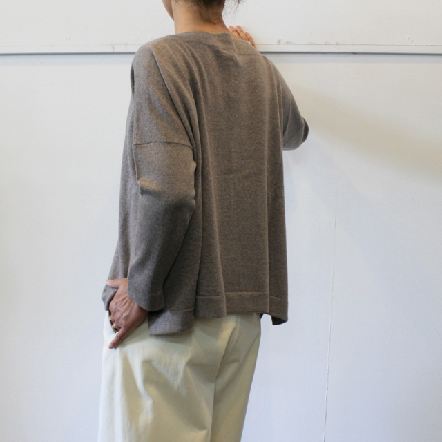 DANIELA GREGIS(ダニエラ グレジス)  BOATNECK SWEATER_MB1P-W44【K】(3)