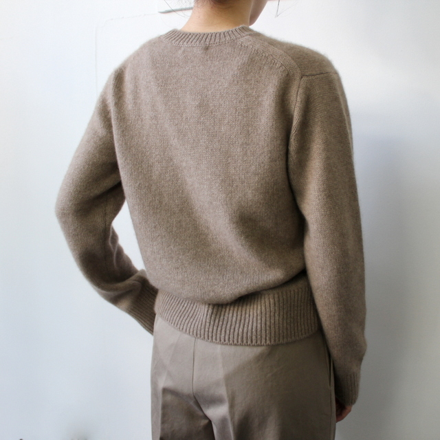 AURALEE(オーラリー)【20AW】BABY CASHMERE KNIT P/O(2色展開)_A20AP04BC【K】(3)