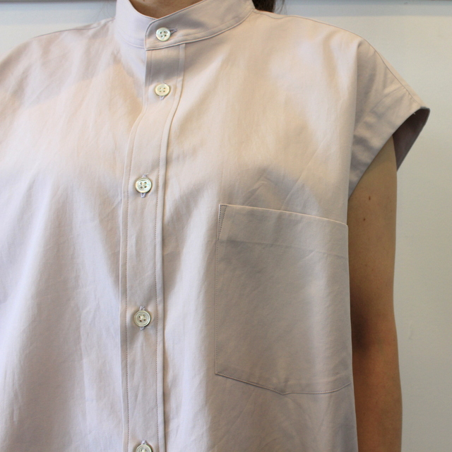 【30% off sale】AURALEE(オーラリー) 【20SS】WASHED FINX TWILL SLEEVELESS SHIRTS _A20SS05TN【K】(4)