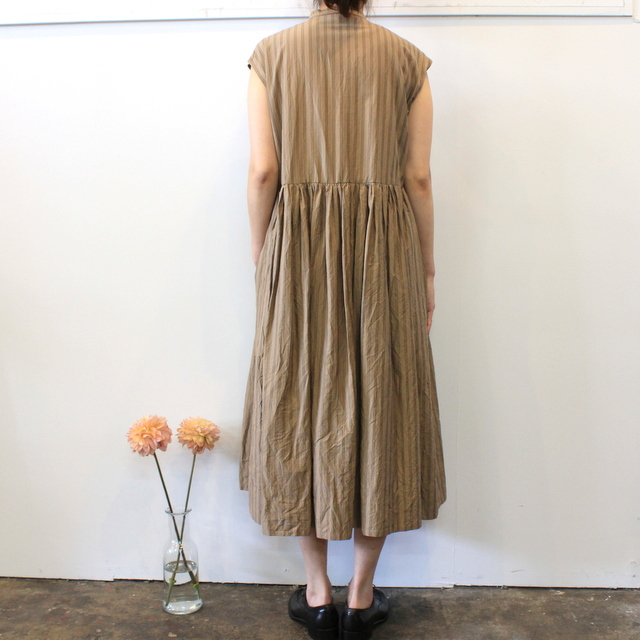 TOUJOURS(トゥジュー)【20SS】Sleeveless Band Collar Dress TM32FD02 【K】(4)