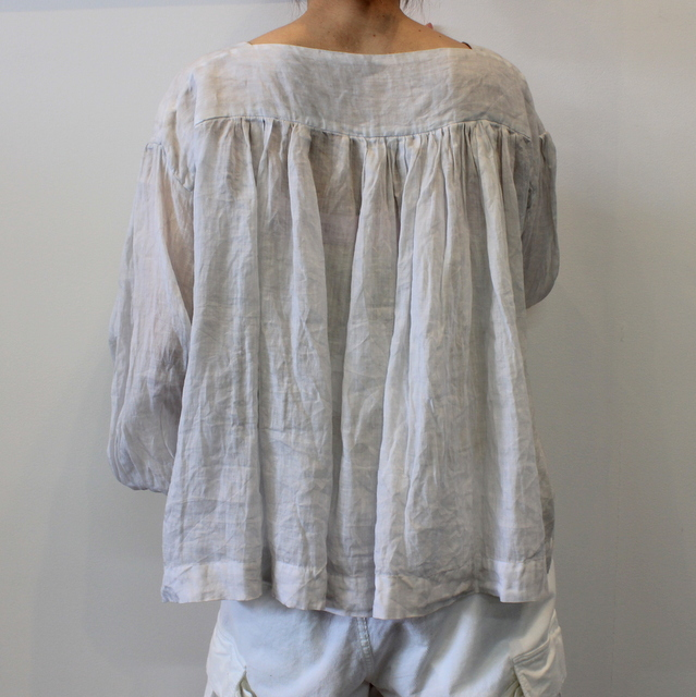 TOUJOURS(トゥジュー) 20SS CLASSIC PLEATED BLOUSE TM32JS02【K】(4)