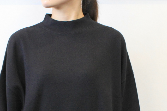 LENO&Co.(リノアンドコー) 【20AW】MOCK NECK LONG T-SHIRT_H2002CS002【K】(4)