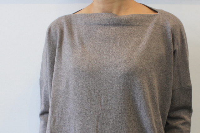 DANIELA GREGIS(ダニエラ グレジス)  BOATNECK SWEATER_MB1P-W44【K】(4)