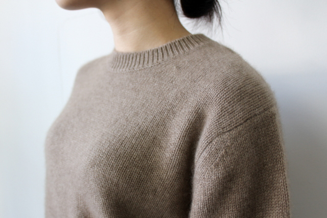 AURALEE(オーラリー)【20AW】BABY CASHMERE KNIT P/O(2色展開)_A20AP04BC【K】(4)