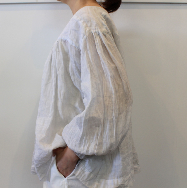 TOUJOURS(トゥジュー) 20SS CLASSIC PLEATED BLOUSE TM32JS02【K】(5)