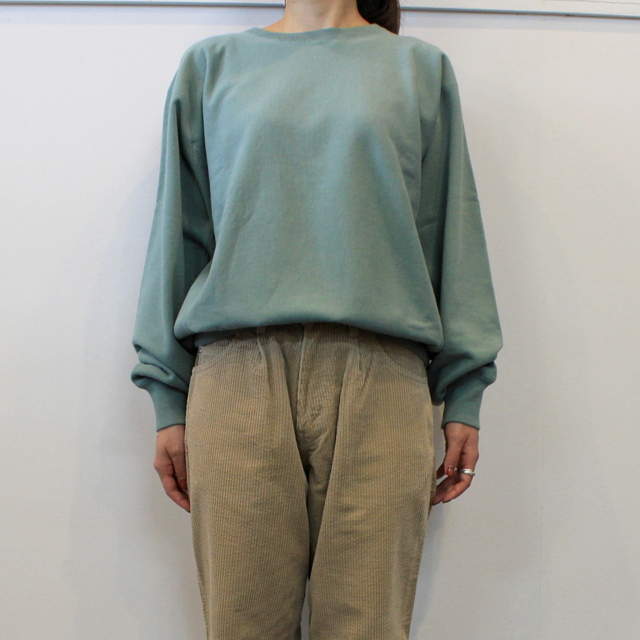 LENO&Co.(リノアンドコー) 【20AW】CREW NECK SWEAT SHIRT(3色展開)_H2002SW001【K】(5)